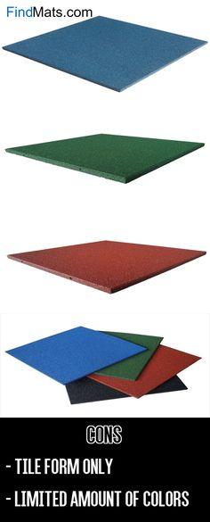 Rubber-Cal Eco-Sport Interlocking Tile-Pack of 5 Outdoor Rubber Tiles, Outdoor Tiles, Outdoor Flooring Options, Flooring Ideas, Playground Mats, Outdoor Playground, Playroom Flooring, Rubber Door Mat, Outdoor Carpet