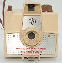 Official Girl Scout Camera for Brownie Scouts