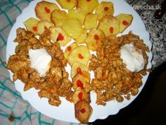 Kebab - Recept Grains, Rice, Chicken, Meat, Breakfast, Food, Cooking, Morning Coffee, Eten