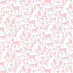 A la hora en que empieza a atardecer, todos los animales del bosque empiezan a salir de sus guaridas. Se adivinan las siluetas en rosa claro de los fantásticos cervatillos, zorros, conejos, buhos y otros animalillos del bosque.  TIPO DE TELA: Tela patchwork de importación (USA). COMPOSICIÓN: 100% algodón de primera calidad ANCHO: 112 cm TAMAÑO ESTAMPADO: El ciervo mide 5,5 cm de ancho. COLOR FONDO: Blanco USO: Es ligera, ideal para patchwork, confección, decoración y otros proyectos de…
