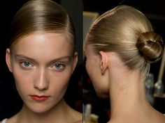 Ports, MFW - milan fashion week ss14 hair and makeup trends