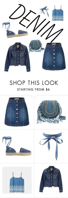 """""""Denim"""" by fashionable1960 ❤ liked on Polyvore featuring LE3NO, MICHAEL Michael Kors, Charlotte Russe, Violeta by Mango and Paige Denim"""