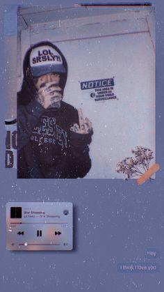 Cute Tumblr Wallpaper, Wallpaper Iphone Cute, Aesthetic Iphone Wallpaper, Cartoon Wallpaper, Cute Wallpapers, Aesthetic Wallpapers, Lil Peep Live Forever, Lil Peep Tattoos, Lil Peep Lyrics