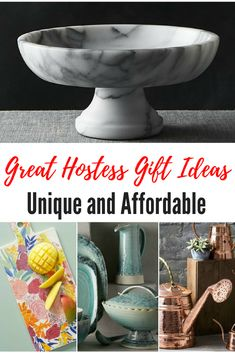 What to Buy For The Hostess – Unique and Affordable Hostess Gifts to Take or Send Christmas Gifts For Mom, Holiday Gifts, Christmas Diy, Unique Gifts, Best Gifts, Holiday Gift Baskets, Corporate Gifts, Hostess Gifts, The Ordinary