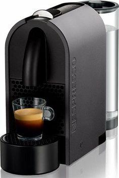 Nespresso U D50 Matt Grey Espresso Machine - http://nespressoshop.net/nespresso-u-d50-matt-grey-espresso-machine