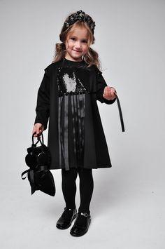 Kids Fashion. All Black. Black Outfit. Inspiration.