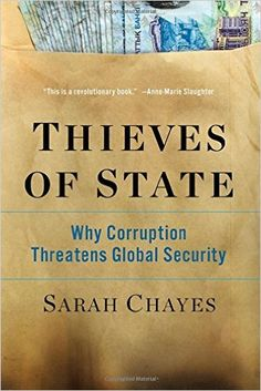 Through research, Chayes reveals that canonical political thinkers such as John Locke and Machiavelli, as well as the great medieval Islamic statesman Nizam al-Mulk, all named corruption as a threat to the realm. In a thrilling argument connecting the Protestant Reformation to the Arab Spring, This book presents a powerful new way to understand global extremism. And it makes a compelling case that we must confront corruption, for it is a cause―not a result―of global instability.