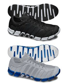 Adidas ClimaCool Ride Running Shoe    Usually Adidas doesn't follow trends, but in the case of the ultralight, barefoot-feel runner, their ClimaCool Ride model is jogging with the pack. This model features flyweight construction and keeps you floating down the road on a forgiving cushion of their specially formulated Adiprene™ foam. Available in a whole rainbow of bright, monochrome colorways, these ClimaCool runners look just as good as they feel.