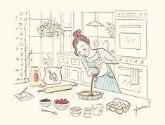 Make Me Happy, Art Inspo, Jasmine, Illustration Art, Arts And Crafts, Artsy, Felt, Kawaii, Cartoon