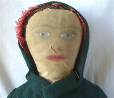 Wonderful Early cloth doll.