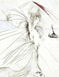 Dali. Woman with Whip. — Windsor Fine Art