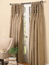 Smocked Window Panels