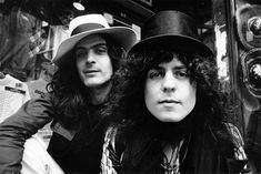 Percussionist Mickey Finn with singer, songwriter and guitarist Marc Bolan of glam rock pop group T Rex, formerly Tyrannosaurus Rex. Get premium, high resolution news photos at Getty Images T Rex Band, Electric Warrior, Nostalgia, Marc Bolan, Best Rock, Glam Rock, Greatest Hits, David Bowie, Pop Group
