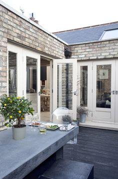 zinc outdoor table