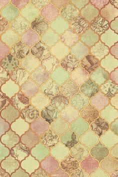 Tile Patterns, Textures Patterns, Print Patterns, Wallpaper Backgrounds, Iphone Wallpaper, Wallpapers, Vintage Diy, Motif Art Deco, Inspiration Wall