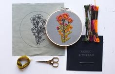 by Walker Boyes Embroidery Kits