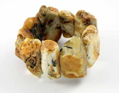 Baltic Amber Bracelet Natural Raw Beads by BalticAmberGiftShop, $199.00