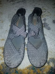 a5d4cf58fa7 Bernie Mev Shoes Heels Size Euro 42 Silver Excellent Condition  fashion   clothing  shoes