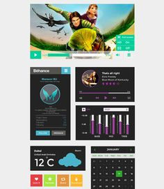 Best Examples of Flat UI Designs