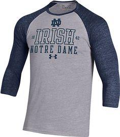 University of Notre Dame Baseball Long Sleeve T-Shirt | Under Armour | Fighting Irish