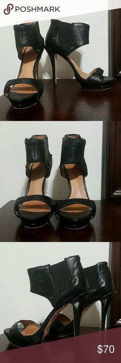 🐙SALE L.A.M.B. Black Heels Size 7.5🐙 L.A.M.B Black Heels  Size 7.5  5 inch heel Leather sole Signs of wear I welcome all offers, no matter the amount  Thanks for stopping by and have a great day!!!!!!!!!!!!!! L.A.M.B. Shoes
