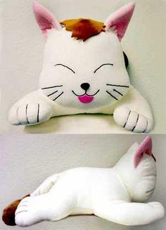 """Fushigi Yugi 14"""" Tama Neko Cat Plush Doll"""