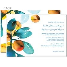 Dream in Color Wedding Cards