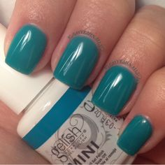 'Radiance is my middle name' by gelish.  Gel nails