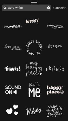 Instagram Words, Instagram Emoji, Iphone Instagram, Instagram And Snapchat, Insta Instagram, Instagram Story Ideas, Instagram Quotes, Instagram Editing Apps, Instagram Story Filters