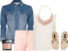 """""""Soft Pink"""" by amandagrace18 ❤ liked on Polyvore"""