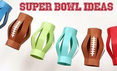 7 Super Bowl Super Ideas #superbowl #party #ideas