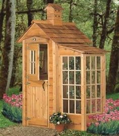 Garden Shed And Accents Plan It's always nice to add a unique touch to your landscaping! This Garden Shed And Accents Plan does just that with its unique birdhouse cupola, over the door birdhouse and (Garden Shed Plans) Backyard Sheds, Outdoor Sheds, Backyard Landscaping, Garden Sheds, Modern Backyard, Backyard Storage, Garden Tools, Backyard Designs, Outdoor Storage