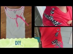 DIY: Transformation 2 T-shirts - YouTube