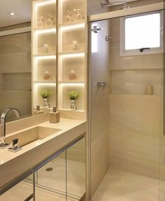 20 Modern Small Bathroom Furniture And Creative Decorating Ideas - 1 Decorate Modern Small Bathrooms, Dream Bathrooms, Modern Bathroom, Small Bathroom Furniture, Bathroom Storage, Bathroom Cabinets, Bad Inspiration, Bathroom Inspiration, Toilet Design