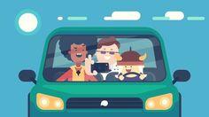 Hey / Explainer Video My animation for new explainer by ThinkMojo. Is a funny video for funny way to Car Animation, Flash Animation, Animation Reference, Cartoon Gifs, Cartoon Styles, Adobe Animate, Fanart, Marvel, Manga