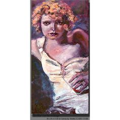 Clara Bow - The IT Girl #Original #Oilpainting #silentmovies #classichollywood  She appeared in 46 silent films and 11 talkies, including hits such as Mantrap (1926) https://ginettecallaway.com/collections/classic-hollywood/products/clara-bow-the-it-girl-old-hollywood-silent-movies-original-oil-painting-by-ginette-callaway