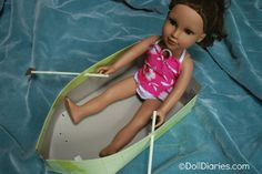How to make a doll sized row boat