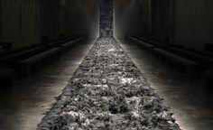 Fendi fur-lined runway at Milan Fashion Week A/W 2014: menswear collections