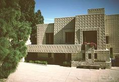 I also need to go see Ennis house