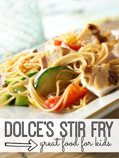 Perfect for a quick, healthy dinner, this stir-fry recipe will be a hit with everyone in your family.