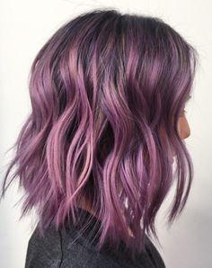Purple bob