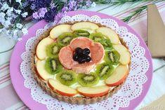 » Crostata alla frutta senza cottura Ricette di Misya - Ricetta Crostata alla frutta senza cottura di Misya