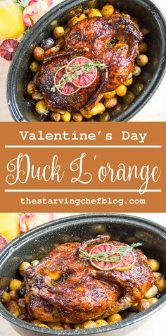 The Starving Chef | Duck a l'Orange for a last minute Valentine's Day!