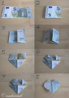 How to Make a Heart Money.jpg – Diy Gifts Ideas – Geschenke – super gifts How to Make a Heart Money.jpg – Diy Gifts Ideas – Geschenke How to Make a Heart Money. Dollar Bill Origami, Money Origami, Origami Easy, Don D'argent, Diy Wedding, Wedding Gifts, Creative Money Gifts, Gift Money, Folding Money