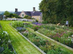 raised bed flower gardens
