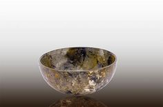 Forest Glen Small Bowl by Amalia Flaisher | Sand & Water Creations in Glass at aRT on Glass Studio