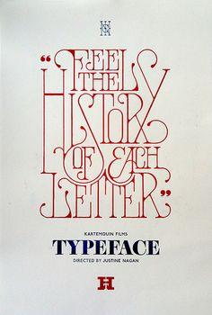 Typeface: via freshly blended