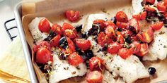 Sobeys | Roasted Cod with Capers, Olives & Tomatoes