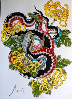 72 Best Japanese Snake Tattoo Images Japanese Tattoos Oriental