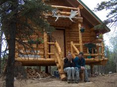 Tiny house AND a log cabin!